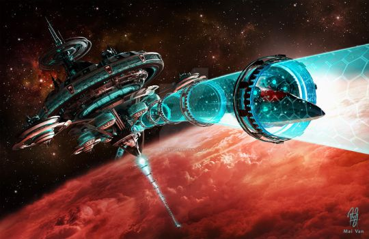 Orbital Station by whyst