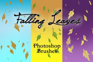 Falling Leaves Burshes by arsenicyanide