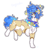 Oof | SET PRICE ADOPT | CITYKINGS LINEART  Closed by Corgi-Cola
