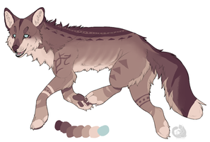 Tribal wolf adopt closed by Raven-Stag