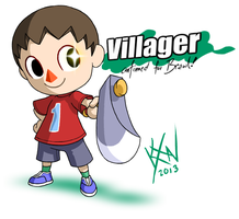 SSB Drawl - Newcomer: Villager by kevinxnelms