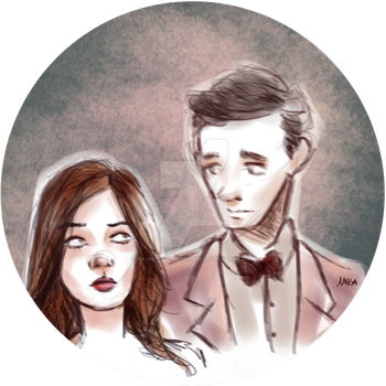 Amy and the Doctor. by raumzeitkontinuum