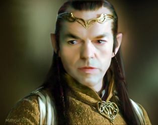 Gold Elrond by mithrialxx