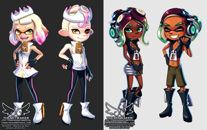Pearl And Marina Costume (9 10 2018) by theskywaker