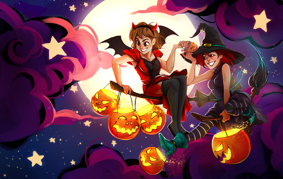 W.I.T.C.H- This is Halloween by Maaronn