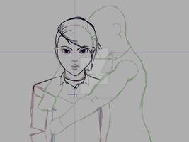 In Progress - Forever Knight OC by tragicallyhipster