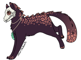 Feral-Skull auction! {CLOSED} by pokebugggirl