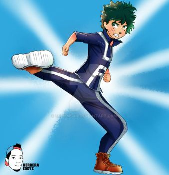 Deku [Boku no Hero] - Stream #1 by eddymsjh