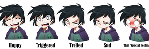 Lancer facial expressions by bleedman