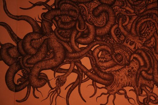 Azathoth detail by meroth
