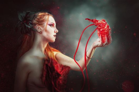I give you my damaged heart by DieElster