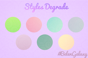 Styles Degrade by BelenGalaxy