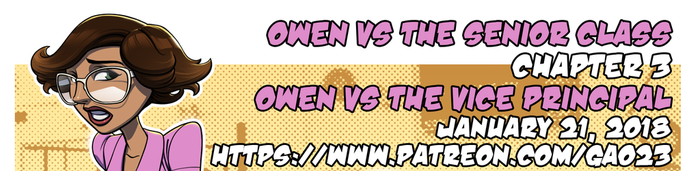 Owen VS the Vice Principal patreon promo by gao23