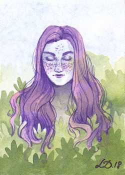 Nymph ACEO by LualaDy