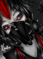 GasMask. Avi Pic for my Love. by ImvuCel