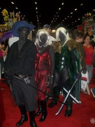 Megacon 2010-Drow Elves by BrokenNeedles
