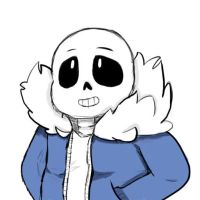 Undertale - Sans by Creepymoonlight