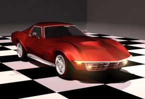 1969 Chevy Corvette by MonsterSix