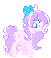 | Oc | Candy Heartswirl (Redesign) | by Candy-Heartswirl