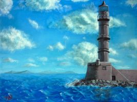 Lighthouse by Ph1at1ine