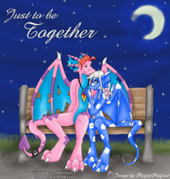 Just to be Together-X+T Fanart by RoseSagae