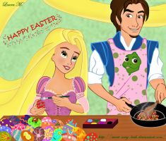 Tangled Easter by Sweet-Amy-Leah