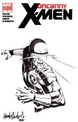 Cyclops cover sketch by wrathofkhan