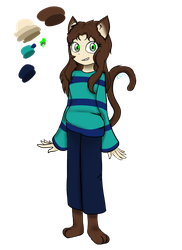 Molly (OC Redesign) by CatGirl236