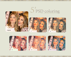 psd coloring  set1 by amooonah