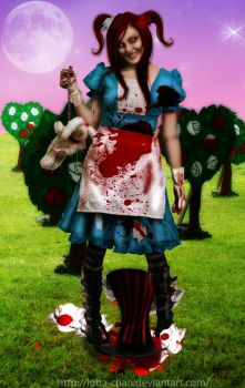 Alice in FearLand by loba-chan