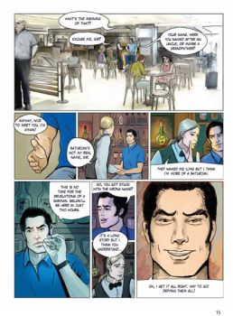 Istanbullular Graphic Novel by ataysoy