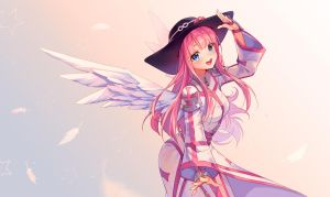 [+Video] Commission - Bubblegum Magic by Hyanna-Natsu