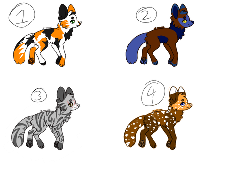 Adoptables!!!!  cheap STILL OPEN by Storm-feather456