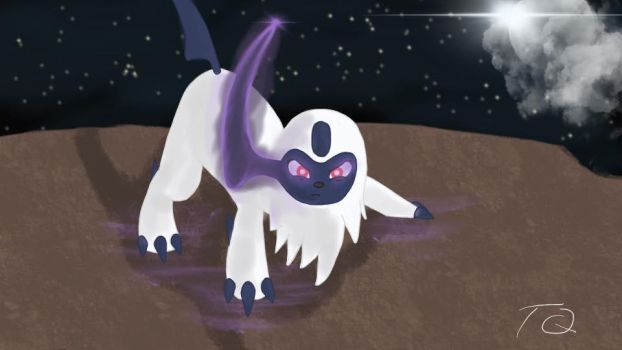 Absol by TyranitarQueen