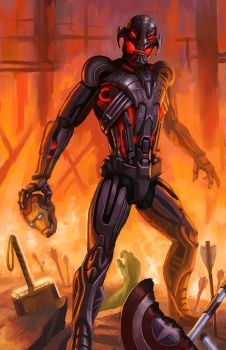 Ultron by Level20Artist