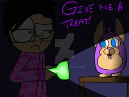 Give Him A Treat Mark! --TattleTail-- by Galaxylo