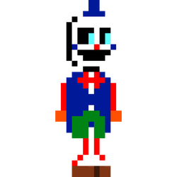 Snappy... but he has a tuxedo by Endoskeleton64