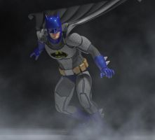 Batman classic costume revisited by hiram67