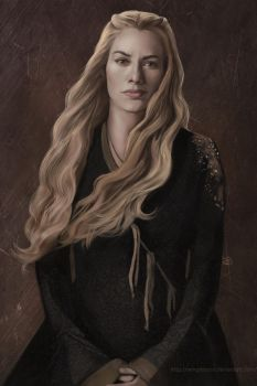 Cersei Lannister by WinglessRin