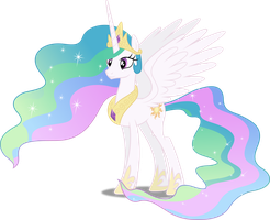 Vector #251 - Princess Celestia #2 by DashieSparkle