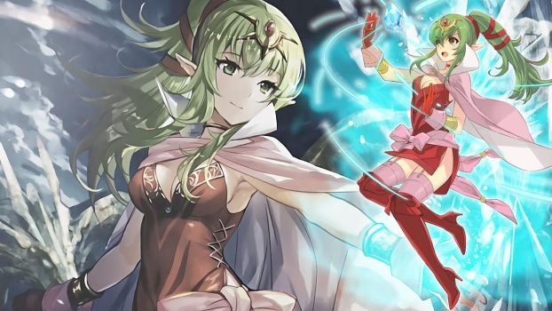 Fire Emblem Heroes Wallpaper - Tiki (Adult) by IncognitoZA