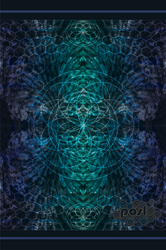 Blue Fractals by APOSL