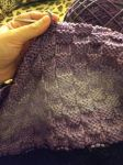 Vegan Knitting: Checkerboard Pattern by XxMisery-SeverityxX