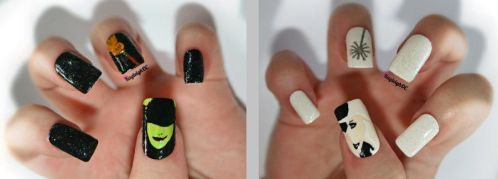 Wicked Nail Art by KayleighOC