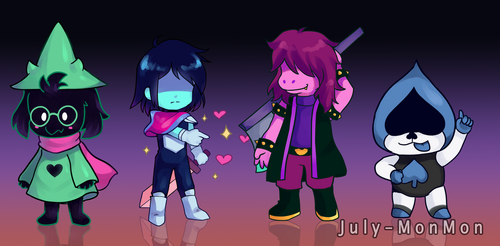 Deltarune by July-MonMon
