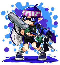 Inkling [03] by SandraGH