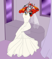 TFP Commission- Wedding Dress by putt125