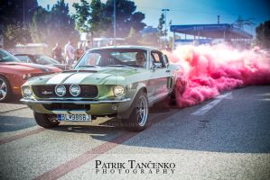 Ford Mustang burnout by patrik145
