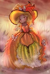 Yellow Orchid Witch by Eamanelf