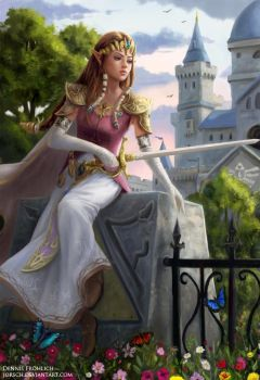 Princess Zelda by Jorsch